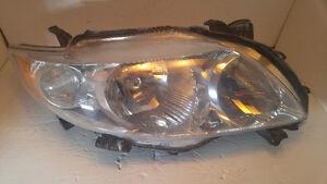 corolla 2009 2010 lumiere droite oem iq right headlamp