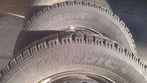 215/65/r16 Goodyear Nordic Winters lots of tread Cambridge Kitchener Area image 2