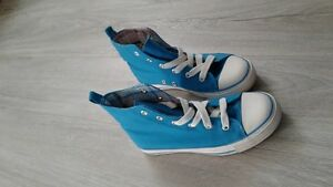 Souliers turquoise