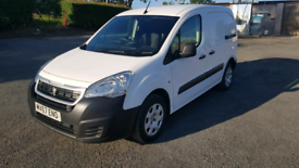 2017 peugeot partner 1.6hdi professional 103,000 miles direct from uk