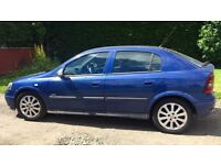 VAUXHALL ASTRA SXI 1.6L (2003) year mot low miles