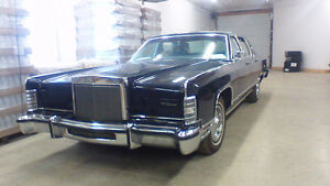 1978 Lincoln Town Car Berline,  36,000 KM,,,,,,   showroom.