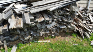 Free wood, take some or all