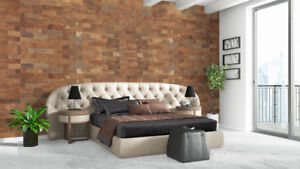 The classic beauty of wood. The ability noise proof - Cork wall