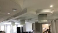 Professional Crown Moulding,Wainscotting and Trim Installation.