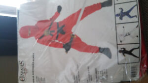 Red Ninja costume size small