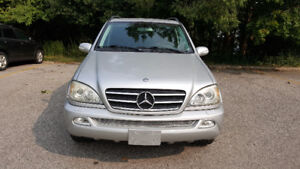 2002 Mercedes-Benz M-Class SUV, Crossover AMG