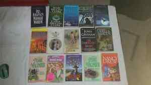 Multiple books for sale