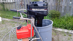 8 HP Mercury , Two -Stroke Outboard Mint Condition