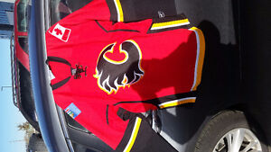 Flames Jersey Brand New mens Large