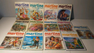 MARTINE album livre lot