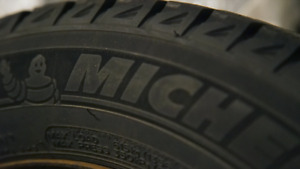 Michelin X-ICE winter tires and rims  195/65/R15 - price reduced