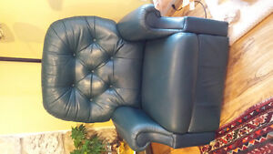 Forest green recliner price reduced