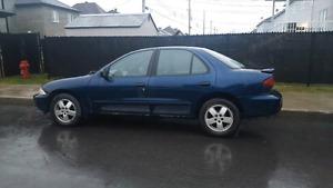 2001 cavalier 124 XXX km