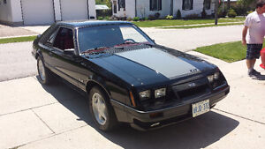 1985 Ford Mustang GT 5.0L V8
