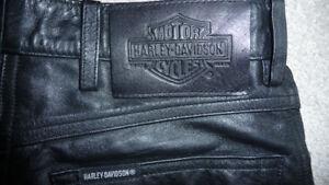 Pantalon cuir  Femme Harley-Davidson