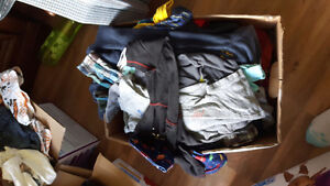 Box's of boys clothes  18 to 24 months
