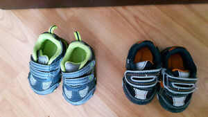 2 baby boy shoes size 1