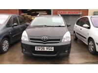 TOYOTA COROLLA VERSO 2.2 DIESEL 7 SEATS IN BLACK ECONOMICAL AND RELIABLE 2006 06