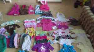 Infant girls clothing 3-6 months old.prices vary