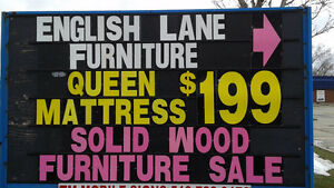 new Queen mattress----$199
