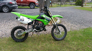 Kawasaki kx 85cc full cross 2 temps