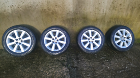 "TOYOTA 16""ALLOYS WITH TYRES"