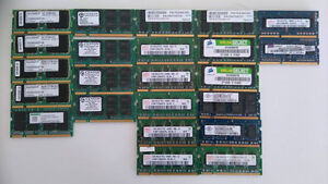 Assorted Laptop & Desktop Ram