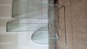 Glass inserts for doors
