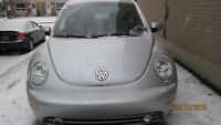 2003 CERTIFIED & ETESTED BEETLE 1.9TDI FULLY LOADED