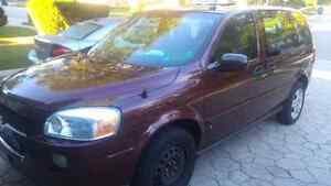 2009 Chevy Uplander 8 Passenger with Injector Propane Tank
