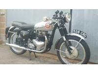*SOLD* 1963 BSA ROCKET GOLD STAR 650. SUNNING RARE ORIGINAL CLASSIC