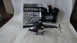 World Tech Toys Saturn-X 2CH IR RC Micro Helicopter