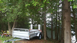 Trailer  7' x 5' with drop gate loading ramp