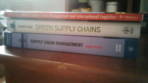 SUPPLY CHAIN MGT COURSES AT GEORGE BROWN TEXTBOOKS