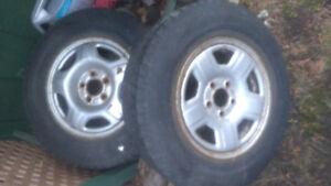 2 JANTES EN ACIER R15/ Bolt Pattern 5x115/ RIMS/ roues/ pneus/ t
