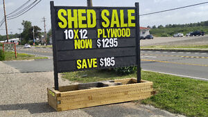 Portable and Planter Box Signs