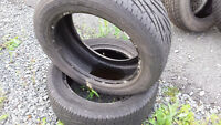 2 - Goodyear Assurance USED tires - 225/55/17