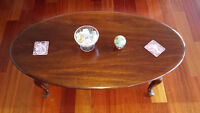 OVAL GIBBARD COFFEE TABLE