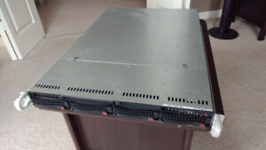 Supermicro 815 1U Server 1x L5410 4GB RAM