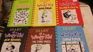 Diary of a Wimpy Kid (11 books) by Jeff Kinney