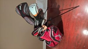 Men's Left Hand Golf Club Set with Bag