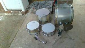 Drums Drum Kit Percussion Hitting Brass Typhoon Marsfield Ryde Area Preview