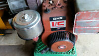 8HP Briggs and Stratton Horizontal Shaft I/C Motor