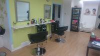 Location de chaise de salon  coiffure et chambre d`esthétique