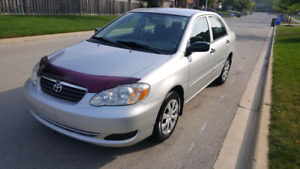 2005 Toyota corolla CE ONE OWNER CERTIFIED ONE YEAR WARRENTY