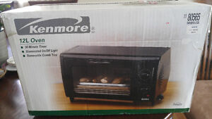 BRAND NEW in box Kenmore toaster oven