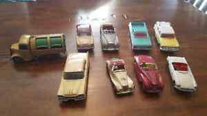 Lot of 9 vintage dinky me cannot  vehicles
