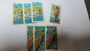 The Red Rose Tea cards(7), 1973