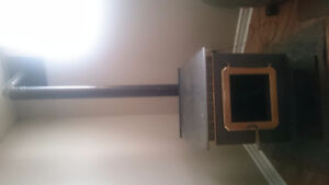 Breckwell Pellet Stove w/ attachments
